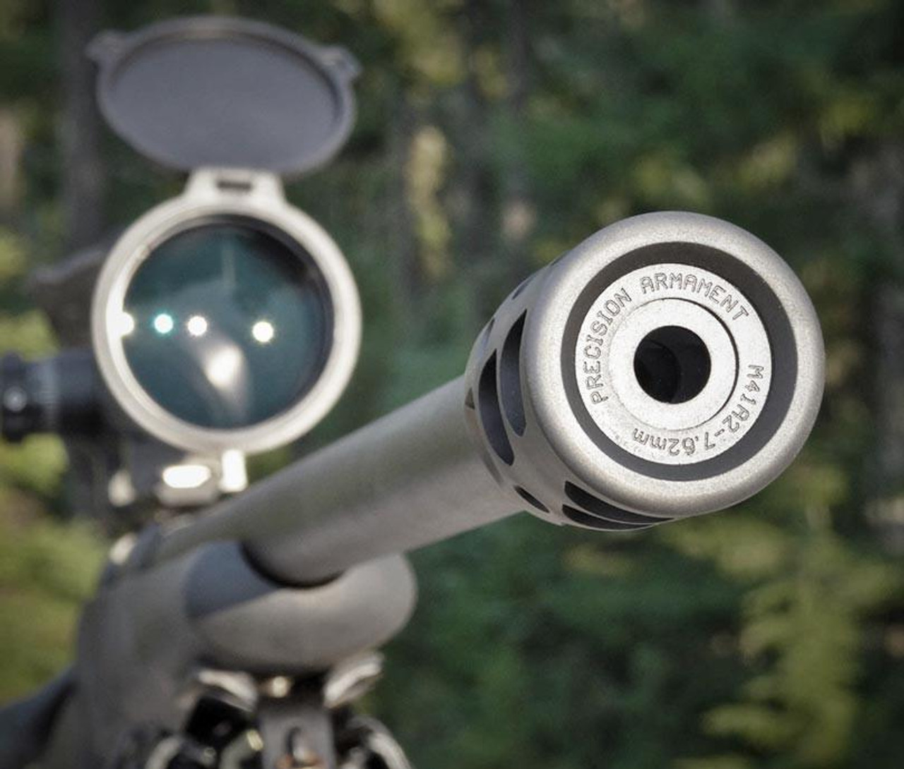 Precision Armament M41 Severe Duty Muzzle Brake 6.5mm / .264