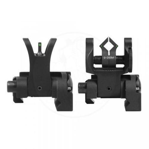 Troy BattleSight Set Micro Tritium - M4 Front & Dioptic Rear