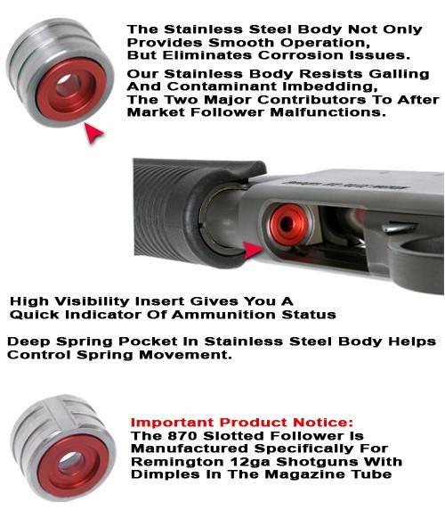 GG&G Remington 870 Follower