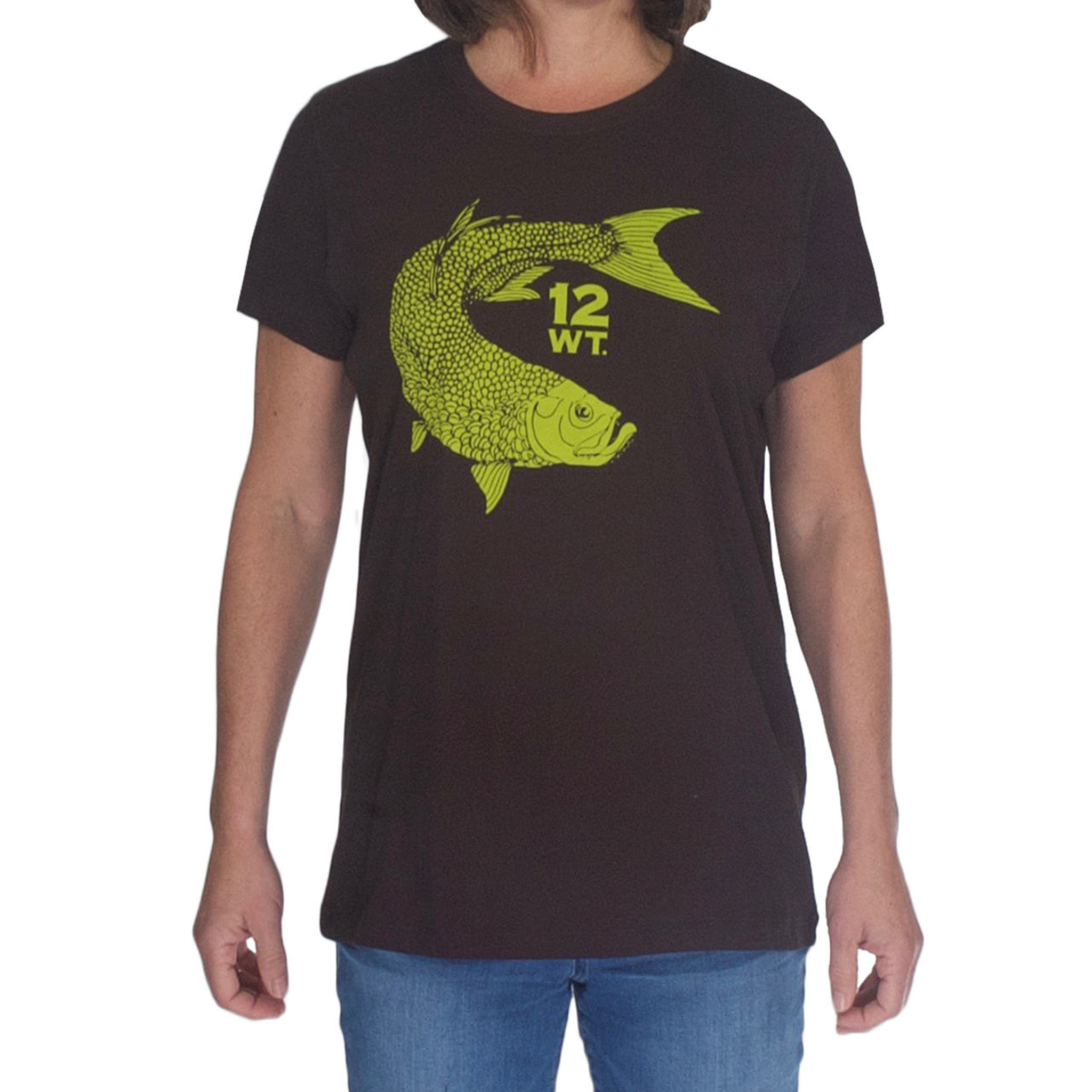 Womens short sleeved t shirt with tarpon logo womens short sleeve t shirt tarpon logo nvjuhfo Images