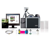 89250 Fargo HDP5000 Color ID Card Printer - Starter Kit