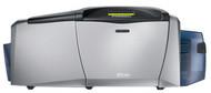 Fargo DTC400e Dual-Sided Color Card Printer w/ Mag & Smartcard Encoder