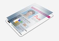 Zebra Clear 1.0 Mil Laminate w/ 1 Side Full Coverage & 1 Side Mag Card