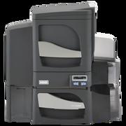 FARGO DTC4500e DUAL-SIDE PRINTER, DUAL-SIDE LAMINATOR, ISO MAG ENCODER, W/O LOCKING HOPPERS