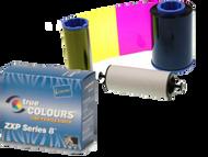 800012-141 Zebra i Series Color Ribbon for ZXP Series 8, 3 Panel YMC, 800 images
