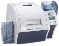 Z81-A00CD000US00 Zebra ZXP Series 8 Retransfer Single-Sided Card Printer, Contact Encoder + Contactless MiFARE, Media Starter Kit, USB and Ethernet Connectivity, US Power Cord