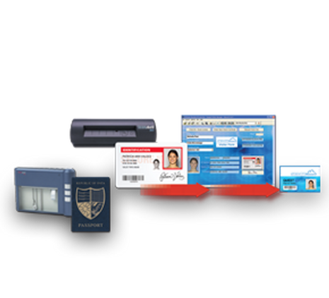 572178-003 Datacard ID Works Visitor Manager software (with Scanner)