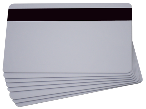 Pointman White PVC 30 mil cards  (500 cards) 201523-101 high coercivity magnetic stripe card (500 cards) 201523-102