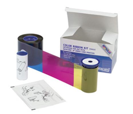 552854-104 Datacard SP25 Plus Color Ribbon Kit YMCKT - short panel - 125 prints