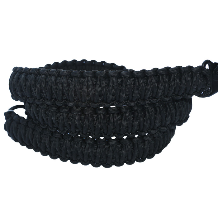 BLACK ON BLACK PARACORD SLING