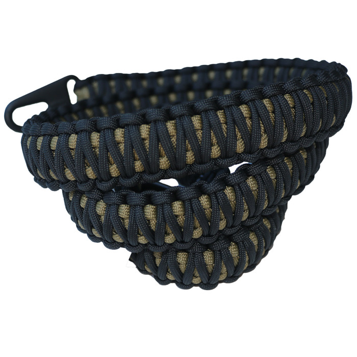 BLACK ON FDE PARACORD SLING