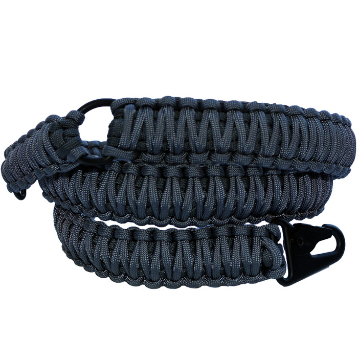 GRAPHITE ON CHARCOAL GREY PARACORD SLING