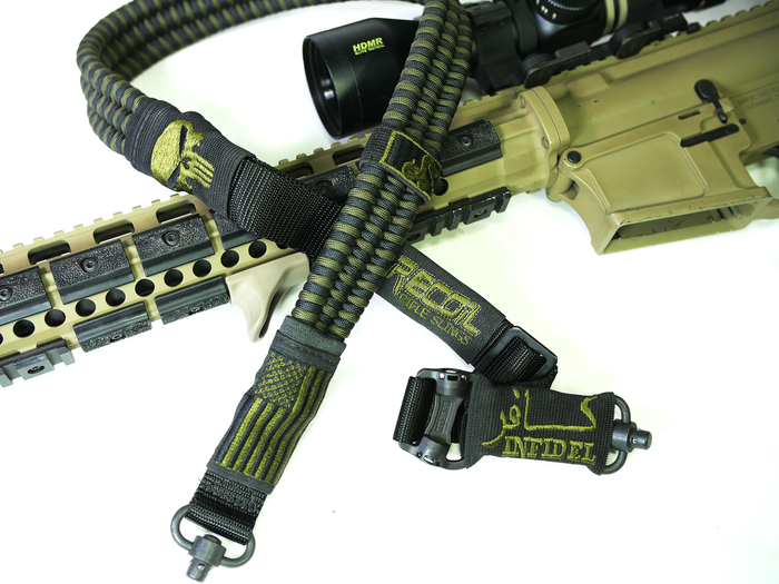 Black / OD Green Recoil Sling
