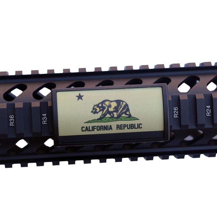 FDE California Flag Rail Cover