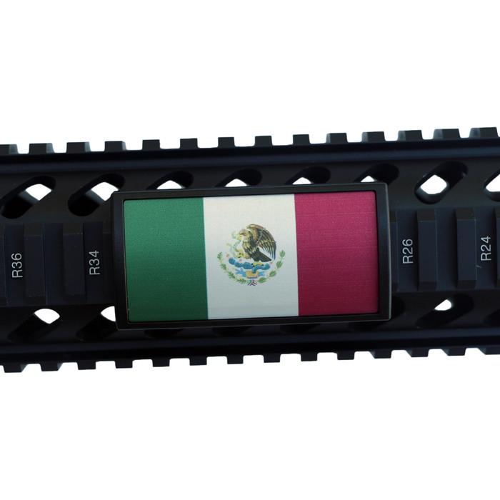 Mexico Flag Rail Cover