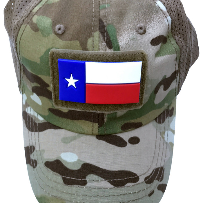 Red White Blue Texas Patch