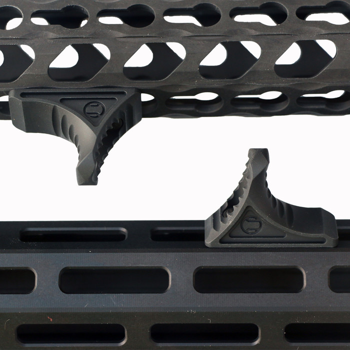 Rail Scales Karve Black- 6061 Billet Aluminum - Fits KeyMod and MLOK