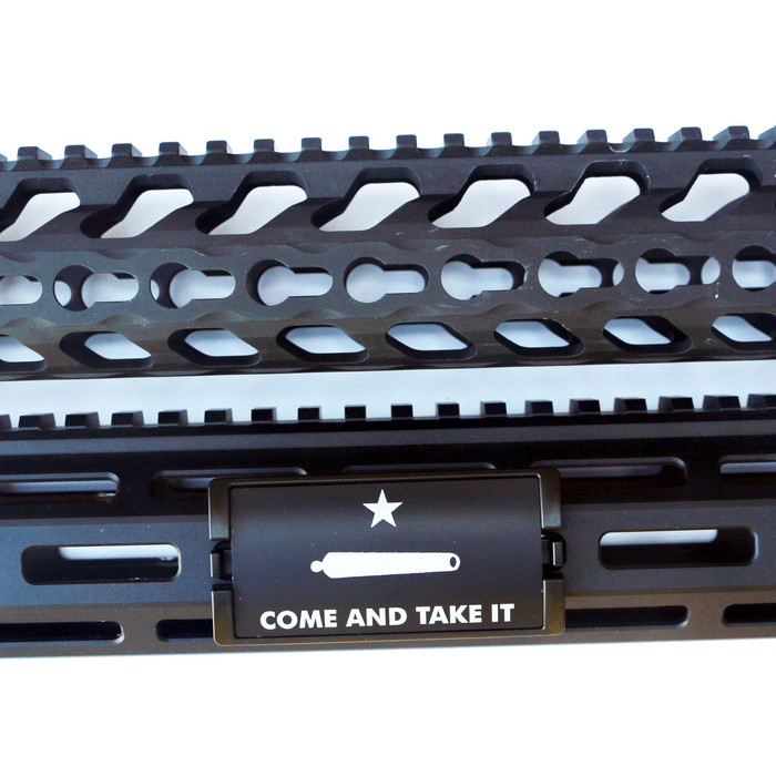 Come And Take It KeyLok Rail Cover- Black Retainer