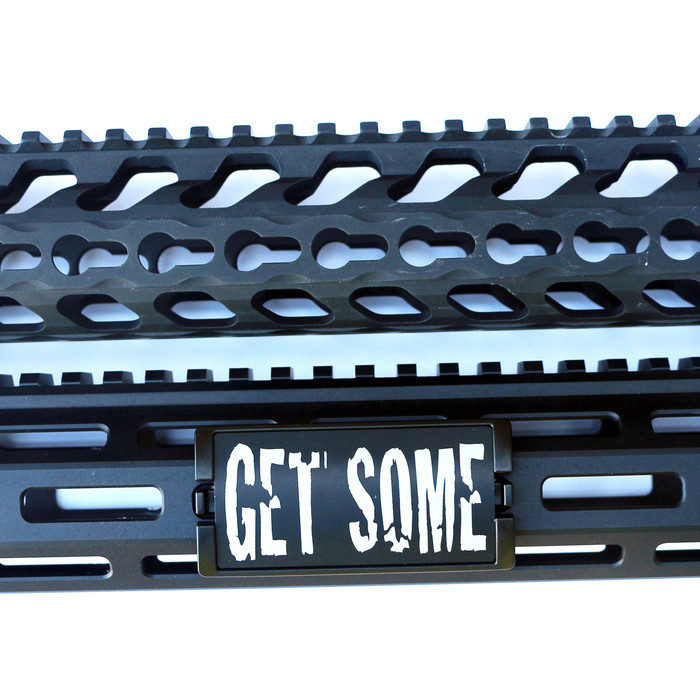 Get Some KeyLok Rail Cover- Black Retainer