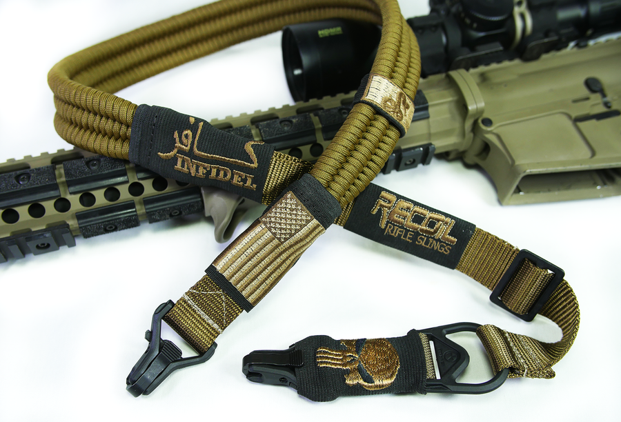 Flat Dark Earth Recoil Sling