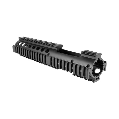 CARBINE LENGTH AR-15/M16 QUAD RAIL HANDGUARD