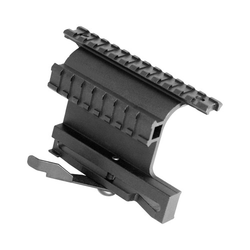 AK-47 DUAL PICATINNY SIDE MOUNT W/ QUICK RELEASE