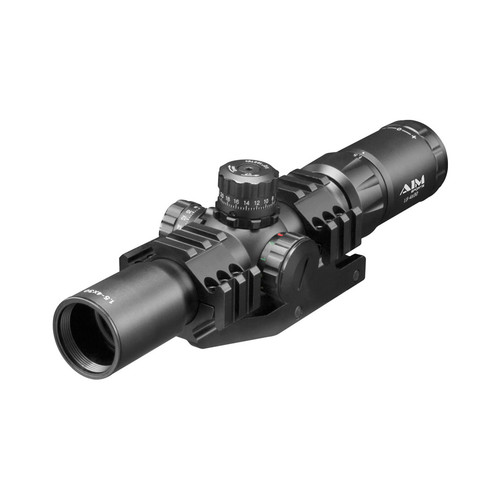 RECON SERIES 1.5-4X30MM RIFLESCOPE W/ 3/4 CIRCLE RETICLE 1