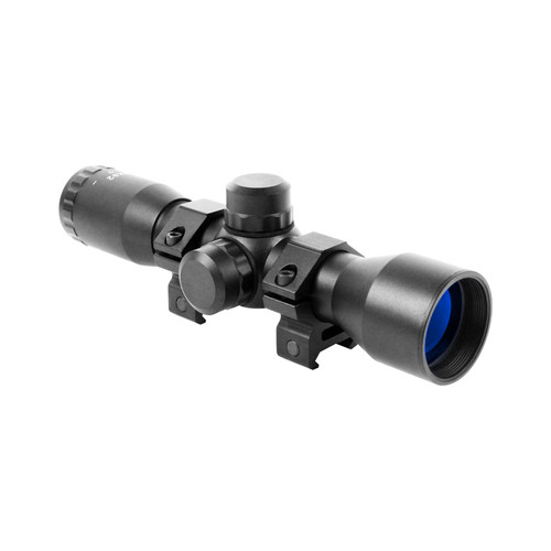 TACTICAL SERIES 4X32 COMPACT SCOPE W/ RANGEFINDER RETICLE