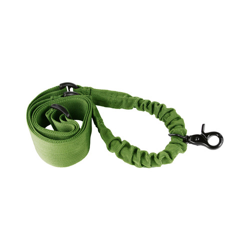 GREEN ONE POINT BUNGEE RIFLE SLING 1