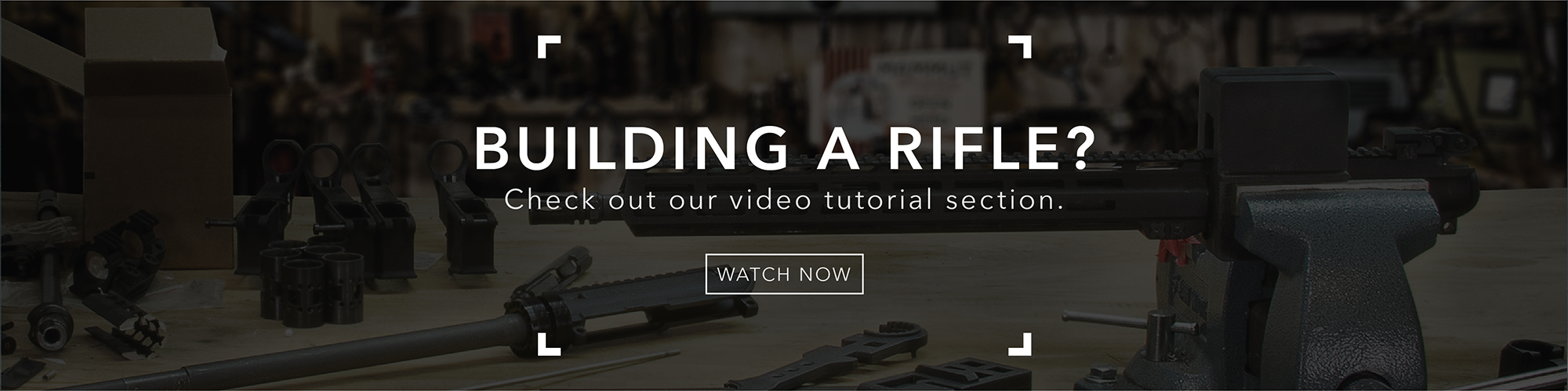 build a rifle video tutorial banner