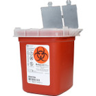 Sharps Container - Red 1/2 Quart