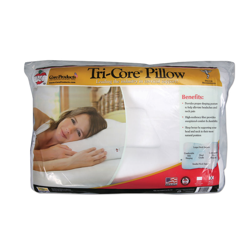 Tri-Core® Pillow packaging