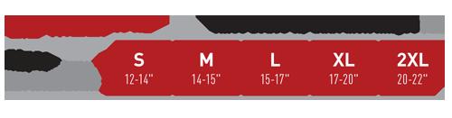 McDavid Hinge Knee Size