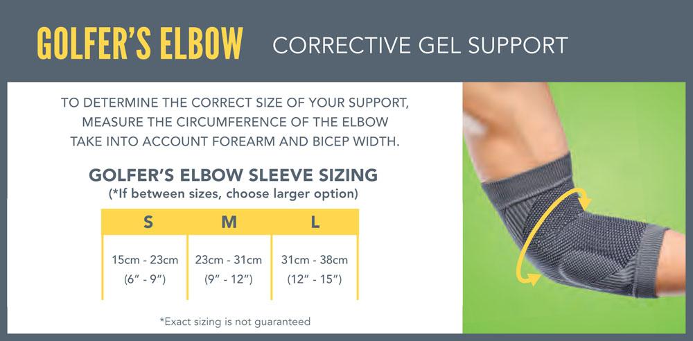 Rally Active Elbow Sizes