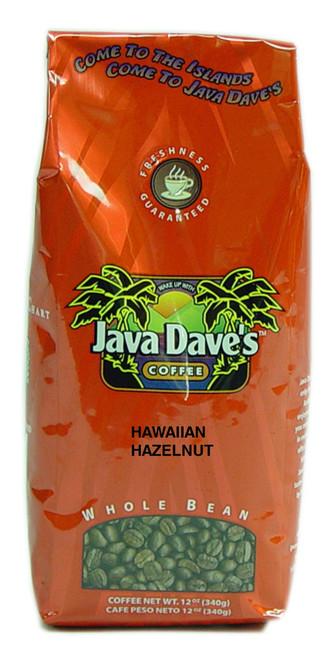 Hawaiian Hazelnut 12oz Bag - Coconut & Hazelnut flavoring.