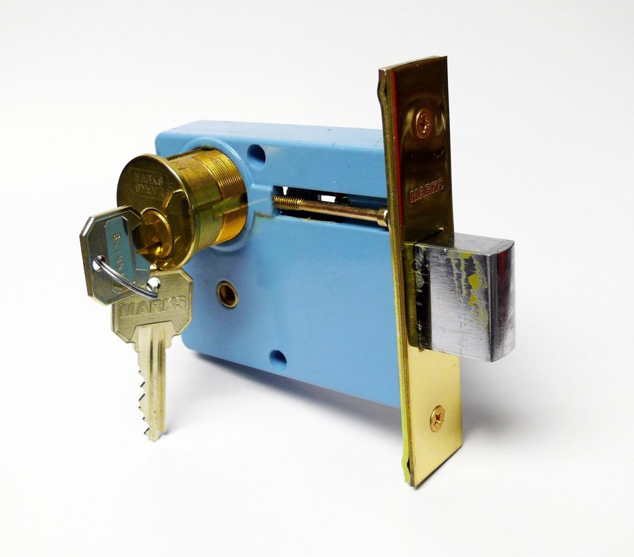 Marks 3000 Brass Mortise Deadbolt Safeandlockstore Com