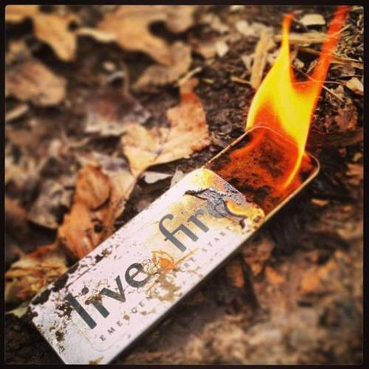 Live Fire Emergency Fire Starter Original Camping Hiking Survival
