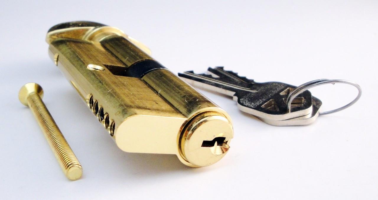 Profile Cylinder Brass Single Cylinder Kwikset Keyway