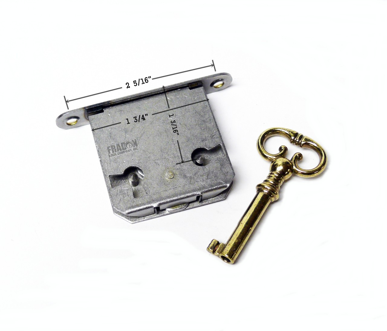 Brass Plated Full Mortise Desk Lock Safeandlockstore Com