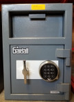 Gardall Front Load Depository LCF2014 shown with optional S&G electronic lock