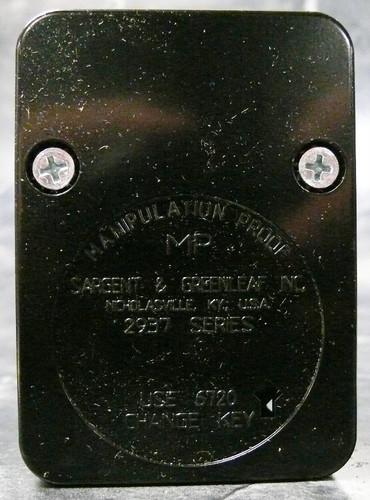 Sargent Amp Greenleaf 2937 200 Safe Lock Package