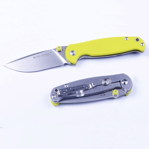 Real Steel H6-S1 Fruit Green G10  Sandvik 14C28N Folding Knife 7775