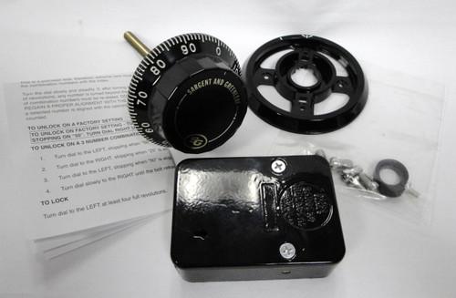 Sargent & Greenleaf 6730-100 Safe Lock, Dial, & Dial Ring Set