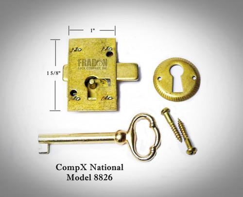 National C8826 Surface Mount Furniture Lock