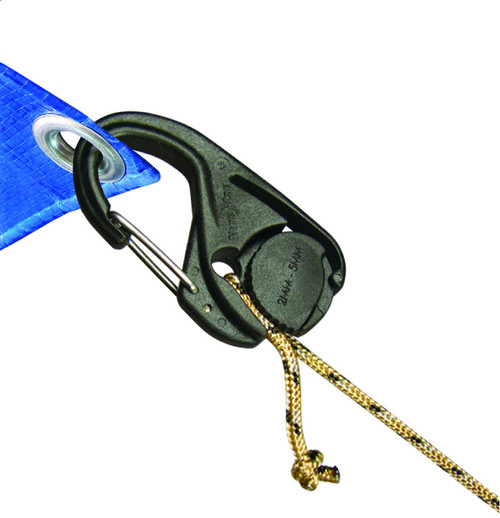 Nite Ize CamJam Cord Tightener Carabiner With Rope (2 Pack)