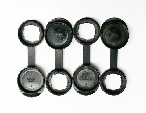 Cam Lock Dust Cover-Set of 4