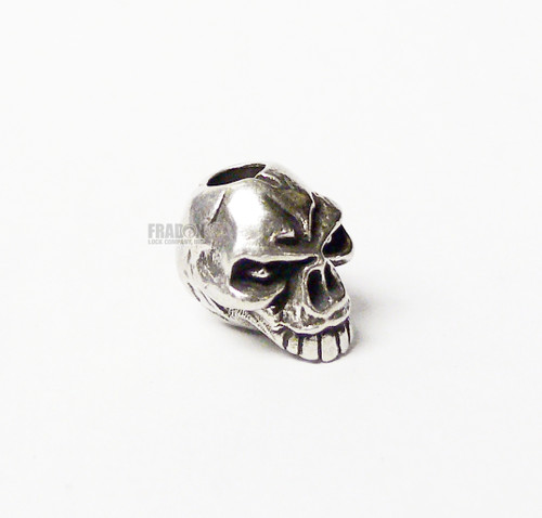 Schmuckatelli Bead Emerson Skull - Pewter