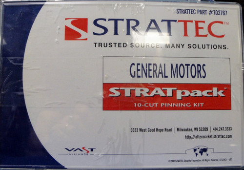 Strattec 702767 General Motors STRATpack 10-Cut Pinning Kit