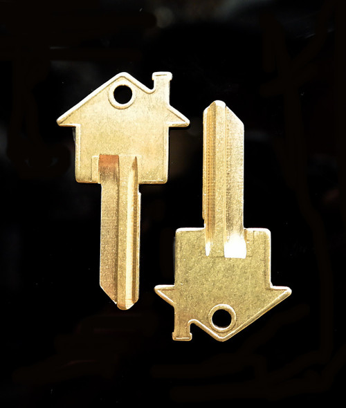 House Key Blanks For Schlage SC1 Keyway - 2 Per Order