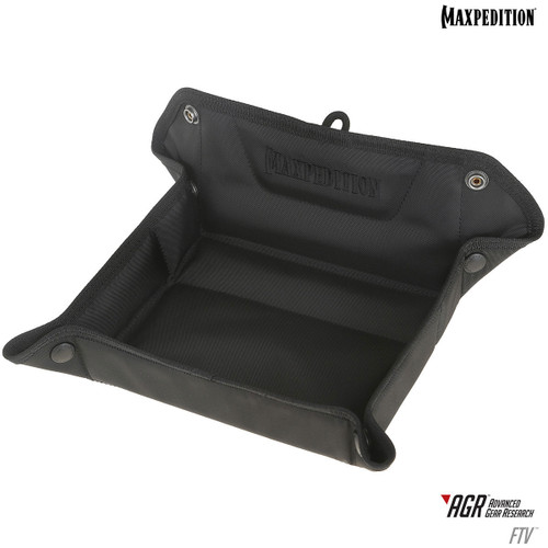 Maxpedition Folding Tray Valet Black FTVBLK